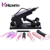 Hismith Sex Machine Vibrator Automatic Sex Machine for Women with 9pcs Sex Toys Female Masturbating Dildos Adult Sex Products