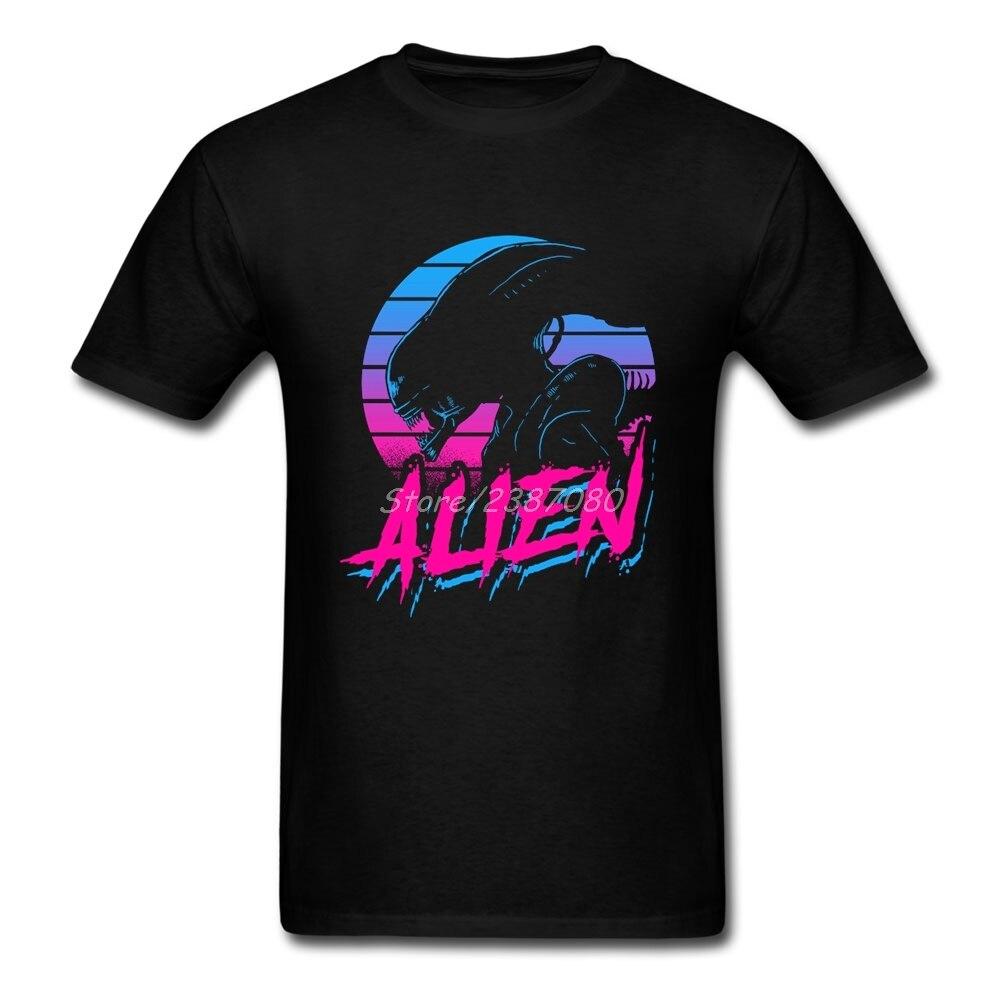 Alien Covenant movie T Shirt Short Sleeve Custom Clothes Pp Hot Selling O-neck Cotton Plus Size Vaporwave Alien 3d T Shirts