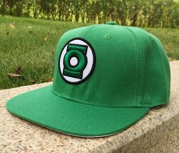 Кепка с логотипом Зеленый Фонарь 1