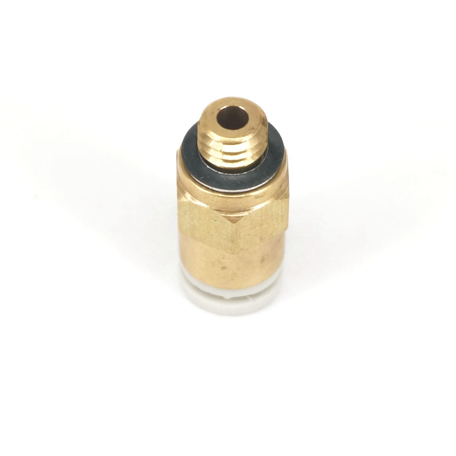 KQ2H04 M5 Satu Sentuhan Pas Push Dalam Laki laki Konektor Berlaku Tubing O D 4mm Port Ukuran M5 x 0 8 KQ2H04M5