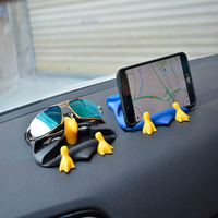 Anti skid pad para cartões de vidro titular do telefone titular Silicone Car Mat Anti Slip skid-prova tapete para carro