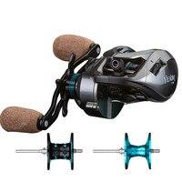 New product Baitcast Reel magnetic brake double spool reel distant whee fishing reel