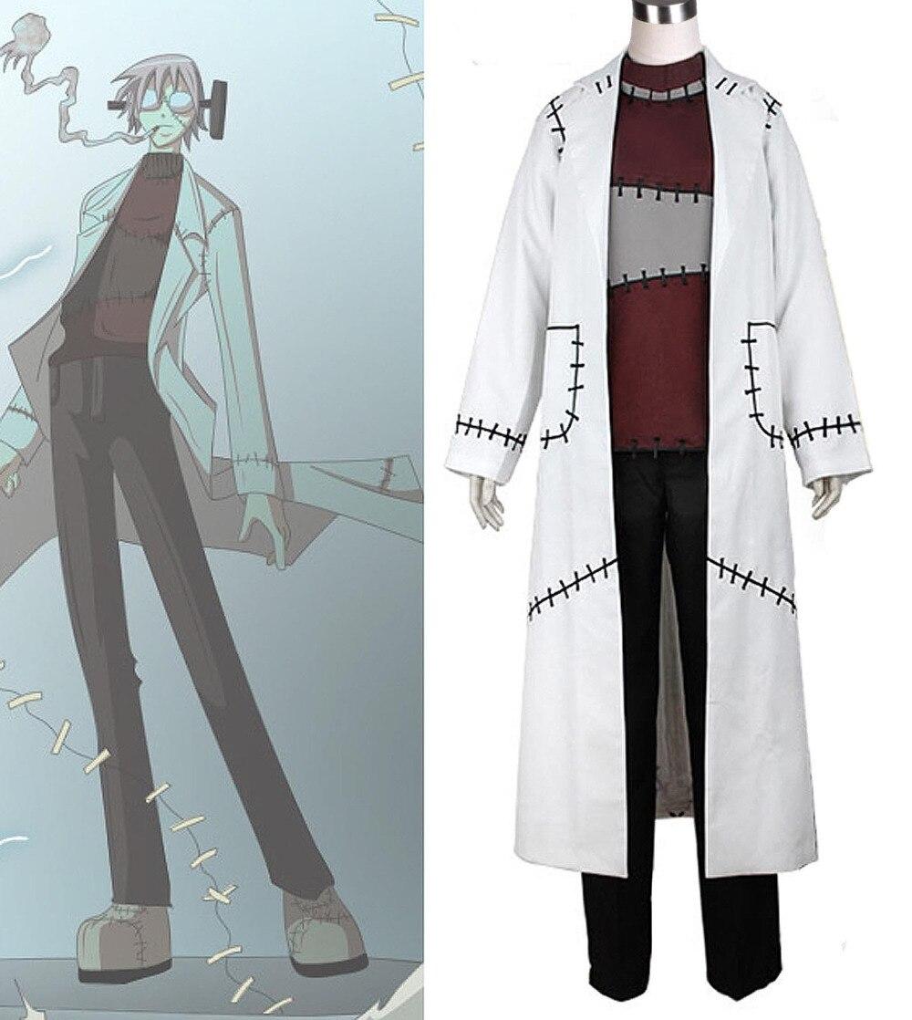 Soul Eater Cosplay Franken Stein Doctor Costume Cosplay