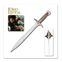 Властелин колец меч кусающий меч/ремесло городской дом сайдинг либур меч Властелин колец меч Фродо (не лезвие)