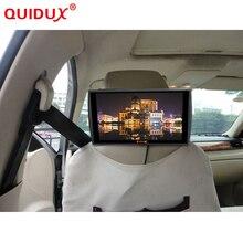 Quidux новый ультра-тонкий 11.6 дюймов 1336*768 высокой четкости Дисплей MP5 подголовник автомобиля Мониторы Поддержка USB HDMI плеер TFT ЖК-дисплей Экран