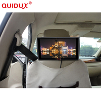 QUIDUX New Ultra thin 11.6 inch 1336*768 High definition Display MP5 Car Headrest Monitor USB support HDMI Player TFT LCD Screen