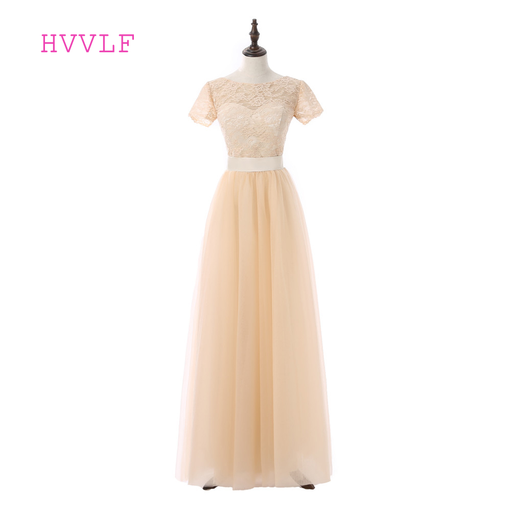 Champagne 2018 Cheap Bridesmaid Dresses Under 50 A Line