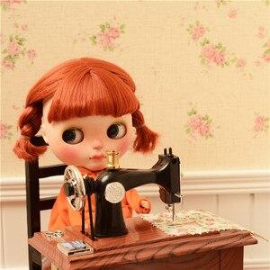 Ностальгия швейная машина доступна для 1/6 BJD Blythes JB PULLIP AZONE DAL кукла licca реквизит для съемки аксессуары для куклы