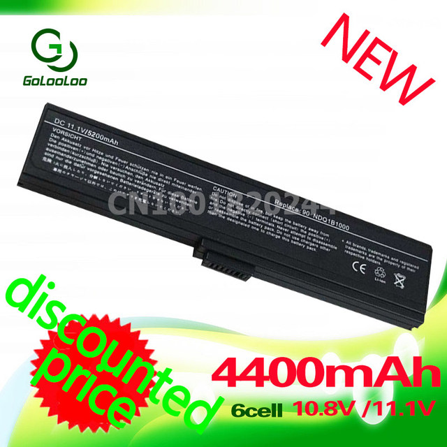 Golooloo 11.1 v 4400 mah batería del ordenador portátil para asus a32-m9 m9 m9a m9f a32-w7 m9j m9v w7 w7f w7j w7s w7e w7sg
