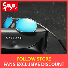 SAYLAYO 2019 New Cool Aluminum Polarized Sunglasses Classic Brand Sun glasses Coating Lens Driving Shades For Men/Women