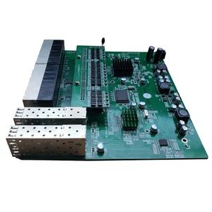Image 4 - 역 poe 스위치 16x10 m/100 m poe 및 4sfp 포트 기가비트 이더넷 스위치 pcb 마더 보드