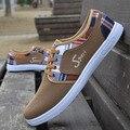 Бесплатная доставка мужская холст обувь, повседневная обувь, обувь Корейской версии линии тренда англии #269