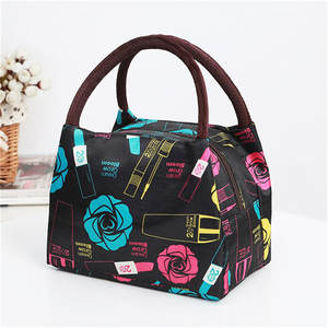 HENGZHEAPPAREL women lunch bag waterproof girls picnic