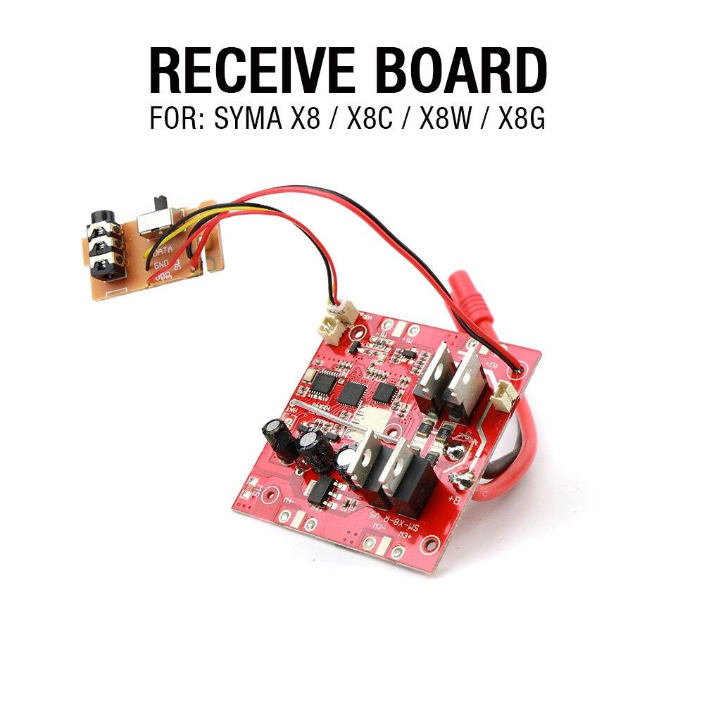Syma X8 Syma X8C Syma X8W 2.4G 4ch 6 Axis RC Quadcopter RC drone parts 2.4G receiver free shipping f09166 10 10pcs cx 20 007 receiver board for cheerson cx 20 cx20 rc quadcopter parts