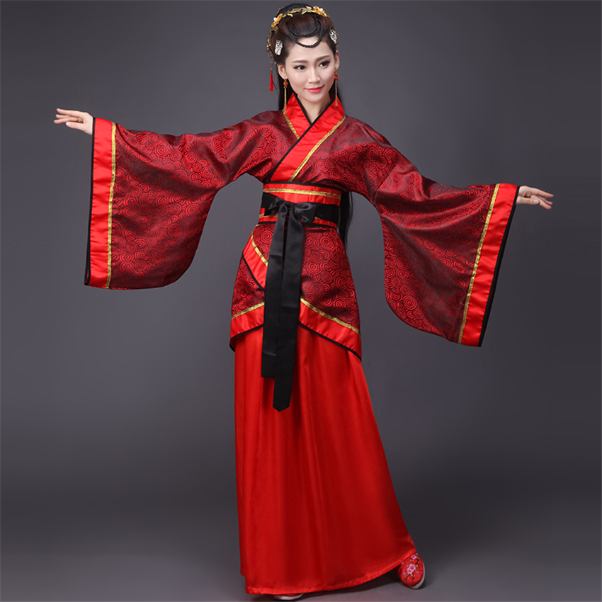 12Styles Woman Chinese Traditional Ancient Dance Costumes Women National Stage Ethnic Hanfu Embroidery Tang Suit for Lady
