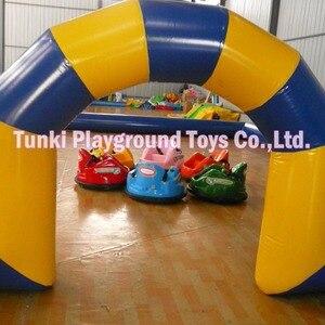 amusment park bumper cars for