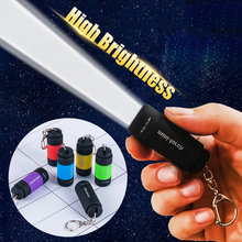 2019 New Key Chains LED Light Flashlight Lamp Pocket Keychain Mini Torch Waterproof