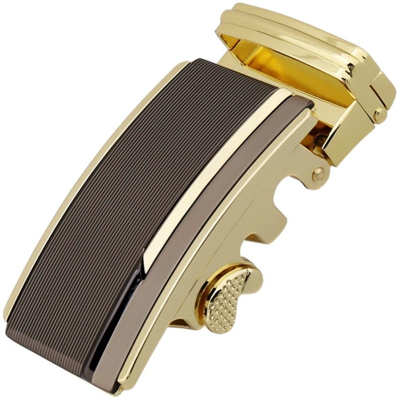 Fashion Men's Business Alloy Automatic Buckle Unique Men Plaque Belt Buckles For 3.5cm Ratchet Men Apparel Accessories Gu4512