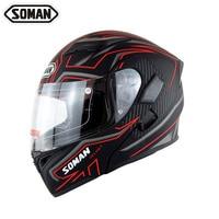 New Arrival High Quality Double Lens Motorcycle Helmet Flip UP Modular Motorbike Street Helmets Casco Casque