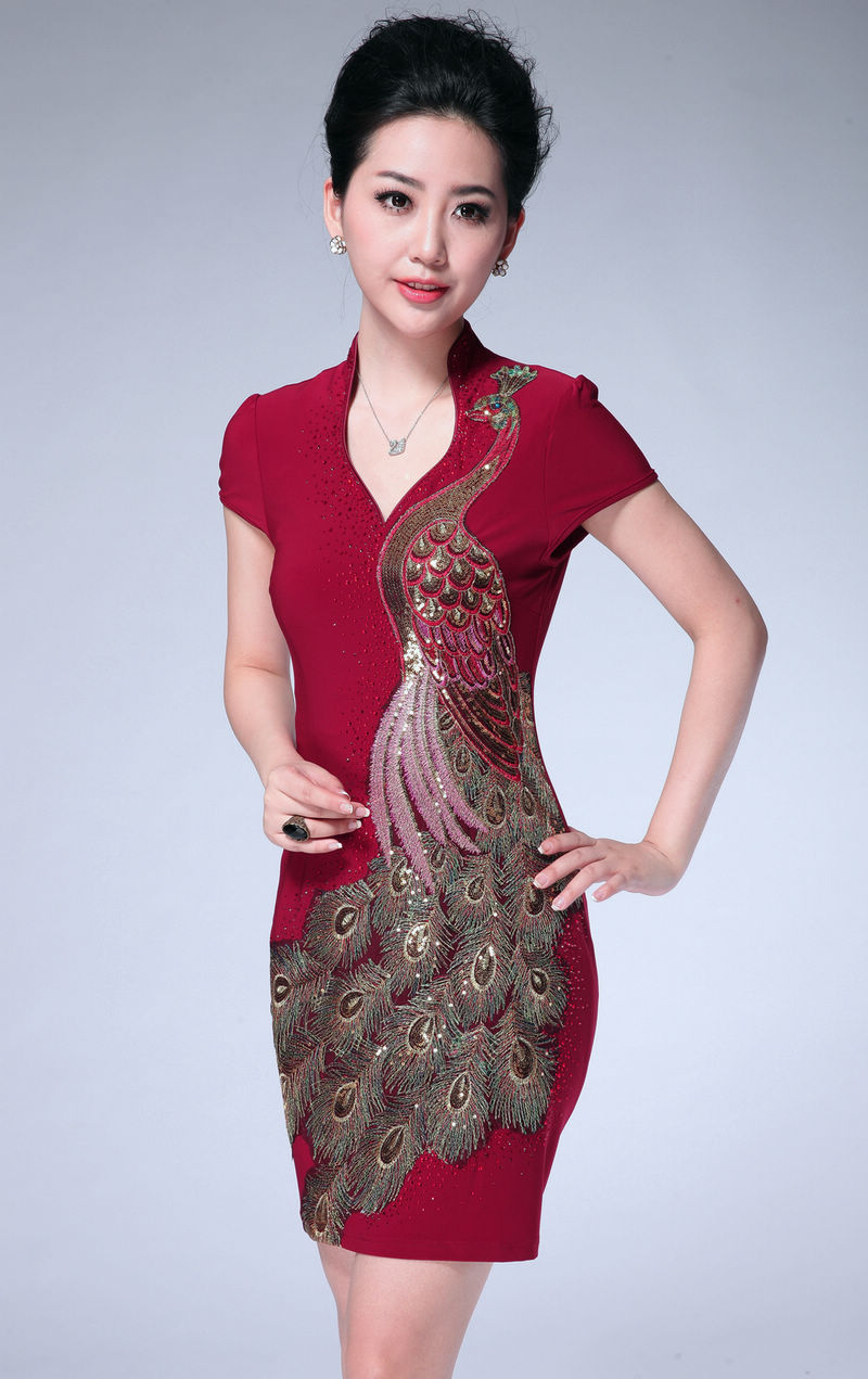 Chinese style of dress