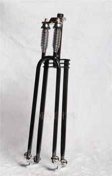 26inch retro double spring suspension bike fork Bicycle Forks Vintage Bicycle Forks Fuel Bicycle Forks