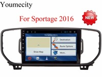 NEW 4G 9 Inch Sportage R Sportage 3 2 Din Android 6 0 Car DVD Player