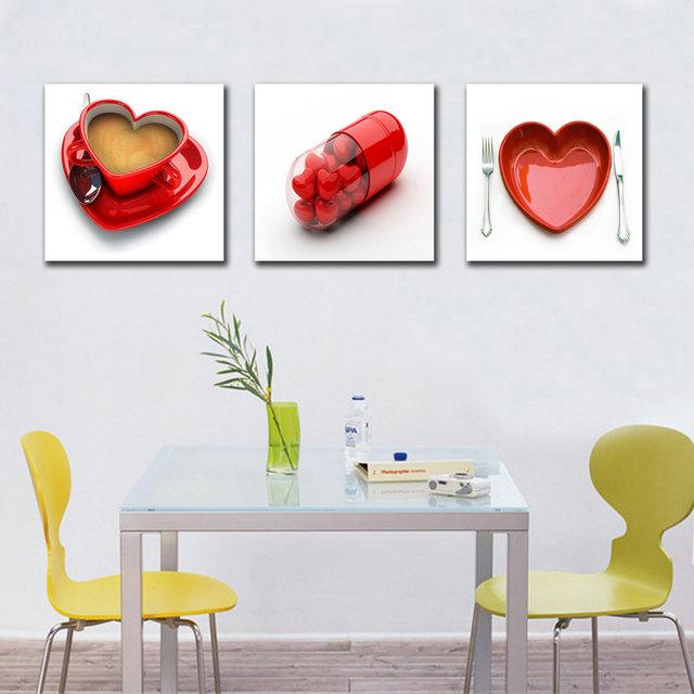Compra pared cuadros para la sala online al por mayor de for Cuadros cocina decoracion