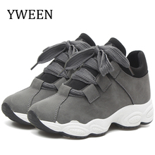 YWEEN Wholesale Casual shoes Women Lace Up Sneakers Spring for women flats breathable sport casual Shoes