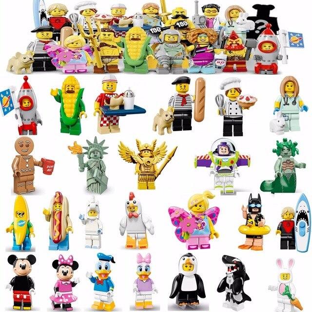 US $0 23 |Limited Edition Single Unicorn Girl Gingerbread Man Medusa  Unicorn Legoing Building Blocks Toys for Kids Girl Statue of Liberty-in  Blocks