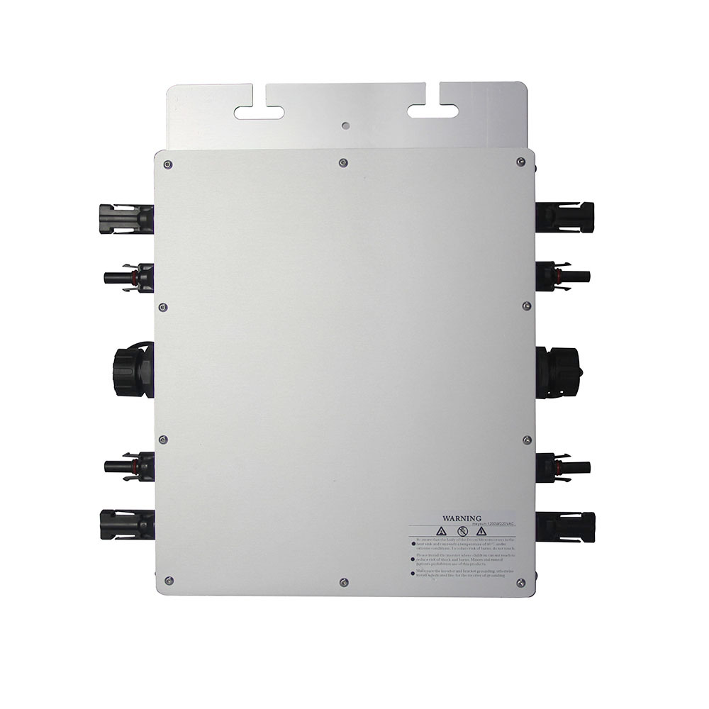MAYLAR@ Maysun1200W Solar Grid Tie Micro Inverter With 4 MPPT Function Output Pure Sine Wave Solar Converter 100V-240Vac