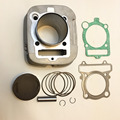 NEW Grizzly 400 CYLINDER PISTON KIT GASKET SET Fit Engine 386CC Air/Oil-cooled STD Bore 83mm  2009