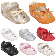 2017  8 colors PU Leather Baby Shoes Baby Moccasins Newborn Shoes Soft Infants Crib Shoes Sneakers First Walker