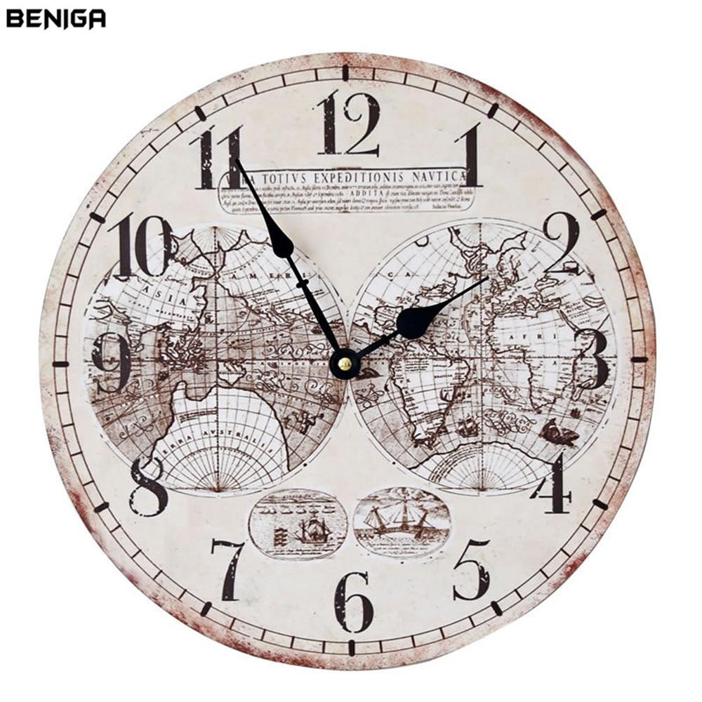 Fullsize Of Wall Clock World