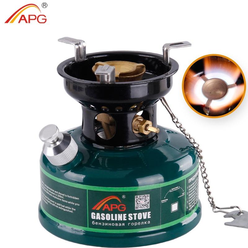 APG En Plein Air Essence Poêle 500 ml D'huile Poêle Brûleurs Matériel de Camping