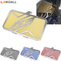 LJBKOALL Motorcycle Radiator Guard Grill Grille Cover Protector for Yamaha YZF R3 YZF R3 2015 2016 2017 2018 Black Red Blue Gold