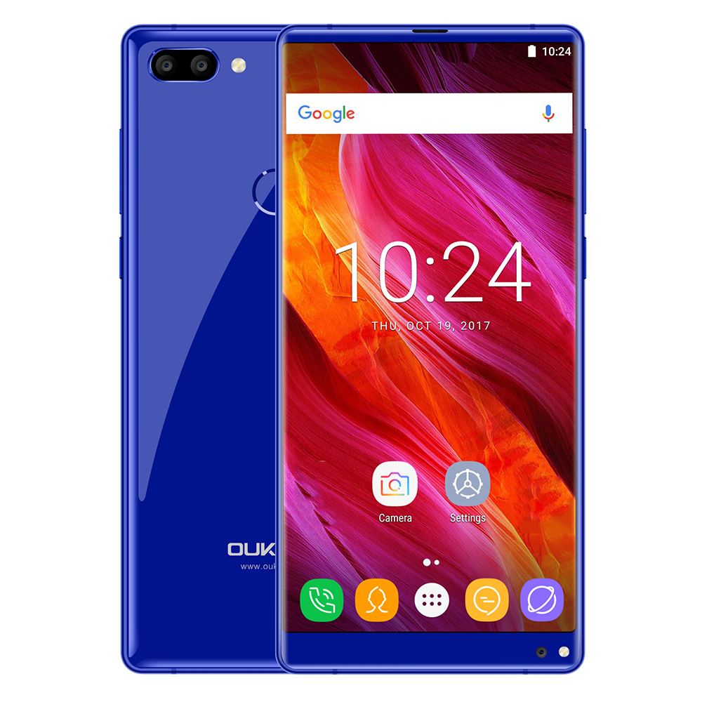Oukitel MIX 2 4G Smartphone Android 7 0 Octa Core 6 0 Inch MTK6757V 2 39GHz