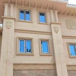 16 cm/6.3in Flexible/ajustable/extensible GRC fundido en su lugar Marco de ventana tradicional reutilizable/borde ABS molde-imagen/menor