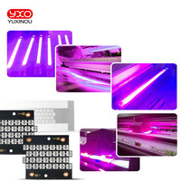 1pcs 250W 500W 1000W 200W UV 395nm 405nm High Power Purple LED Copper PCB for for uv light,Flatbed Printer,uv glue curing light