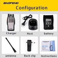 מכשיר הקשר (2 PCS) Baofeng UHF מכשיר הקשר BF-A5 16CH VOX + מערבל פונקציה משלוח חינם שני הדרך רדיו (4)