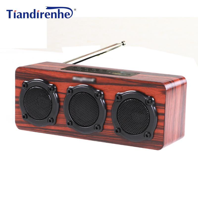 S309 DIY Wooden Bluetooth Speaker Portable FM Radio PC USB AUX TF Card Speakers Stereo Bass Sound Box for Computer Android IOS s309 diy wooden bluetooth speaker portable fm radio pc usb aux tf card speakers stereo bass sound box for computer android ios