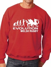 volution Of Welsh Rugby Funny Sweatshirt/Jumper Unisex Birthday Gift More Size and Color-E232 цена