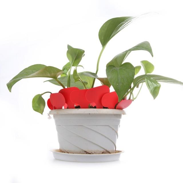 100Pcs/lot Plastic T-type Nursery Garden Plants Labels Flower Pot Thick Tag Marker for Plants DIY Garden Decoration Tools