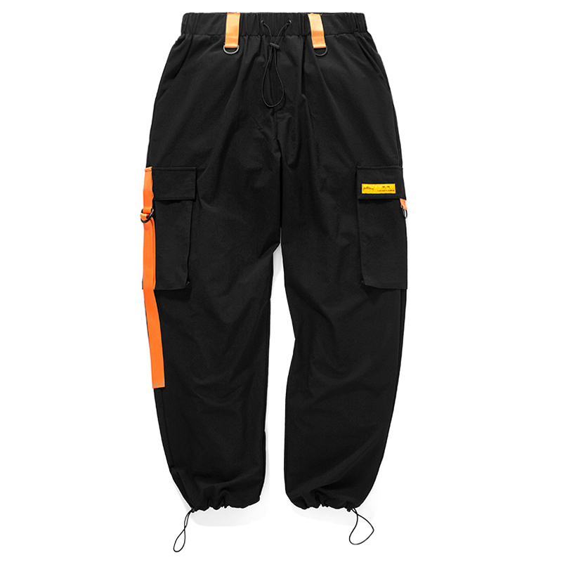 2018 Autumn Pockets Street Wear Hip Hop Pants Loose Casual Style Men Top Sellers New Items Men Fashion New Design Cargo Pants