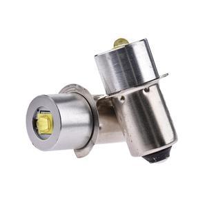 Image 2 - 3W alliage daluminium lampe de poche LED ampoule économie dénergie P13.5S lumière blanche 3V/4 12V
