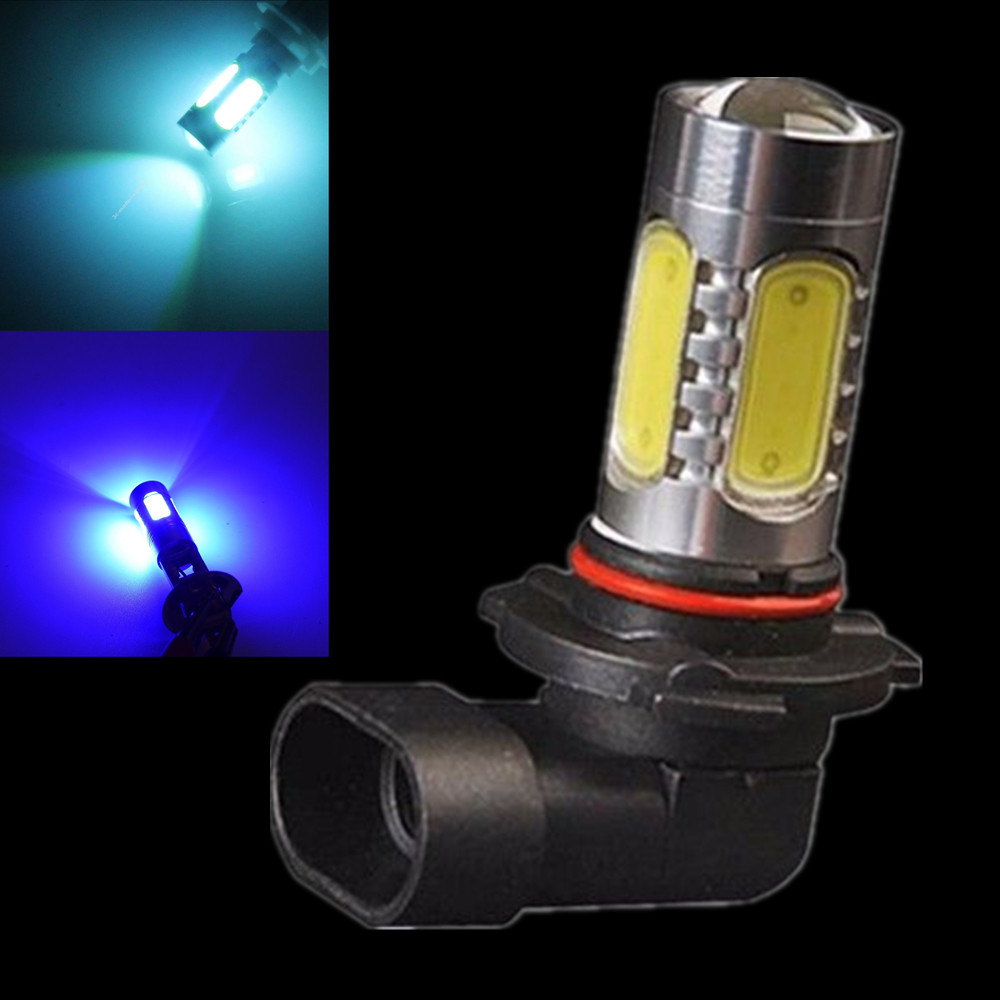 1PC High Power 7.5W White 9006 HB4 5 COB LED Turn Signal Bulb Car Fog Light DRL Lamp Red Ice Blue Amber Yellow Pink car cob led h7 bulb fog light parking lamp bulbs driving foglight 7 5w drl 2pcs amber yellow white red ice blue