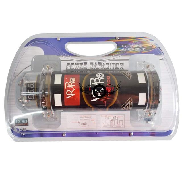 Condensateur de voiture hybride numérique noir   I Key acheter 3.0 Farad, affichage de la puissance à °, condensateurs de voiture