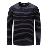 Fredd Marshall T Shirt Striped 100 Cotton Tops Tees Long Sleeve Male Pullover Tracksuit Spring Autumn