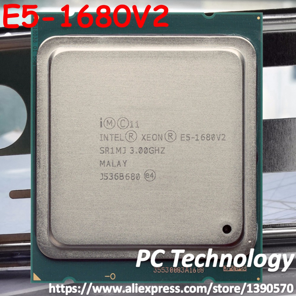 Original Intel Xeon Processor E5 1680 V2 3 0GHz 8 core 25MB E5 1680V2 SmartCache E5