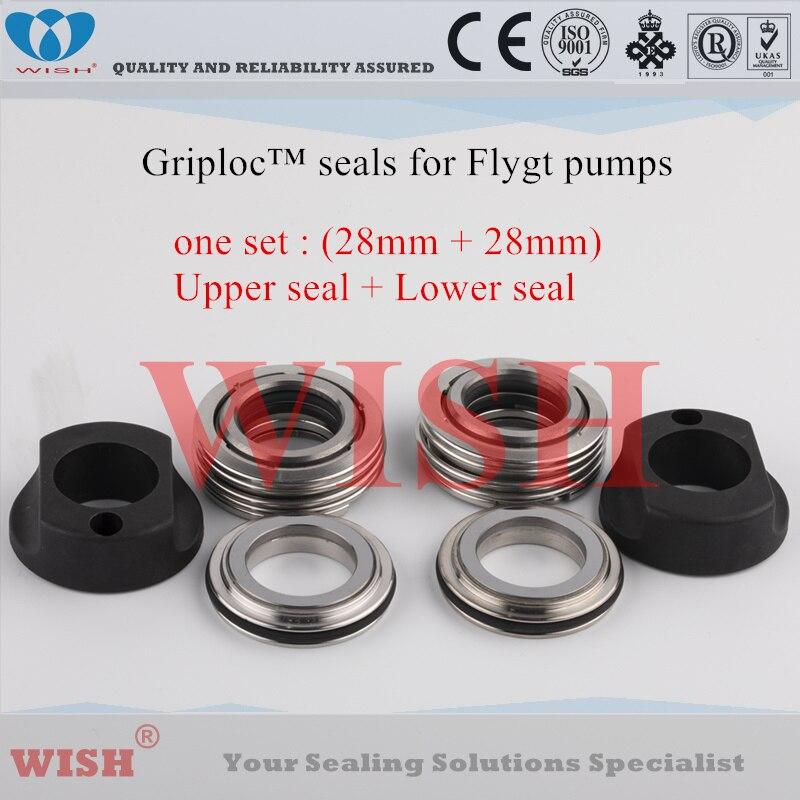 28mm Griploc mühür/Flygt ve Grindex Pompa Contaları 2082/2090/2125/2140