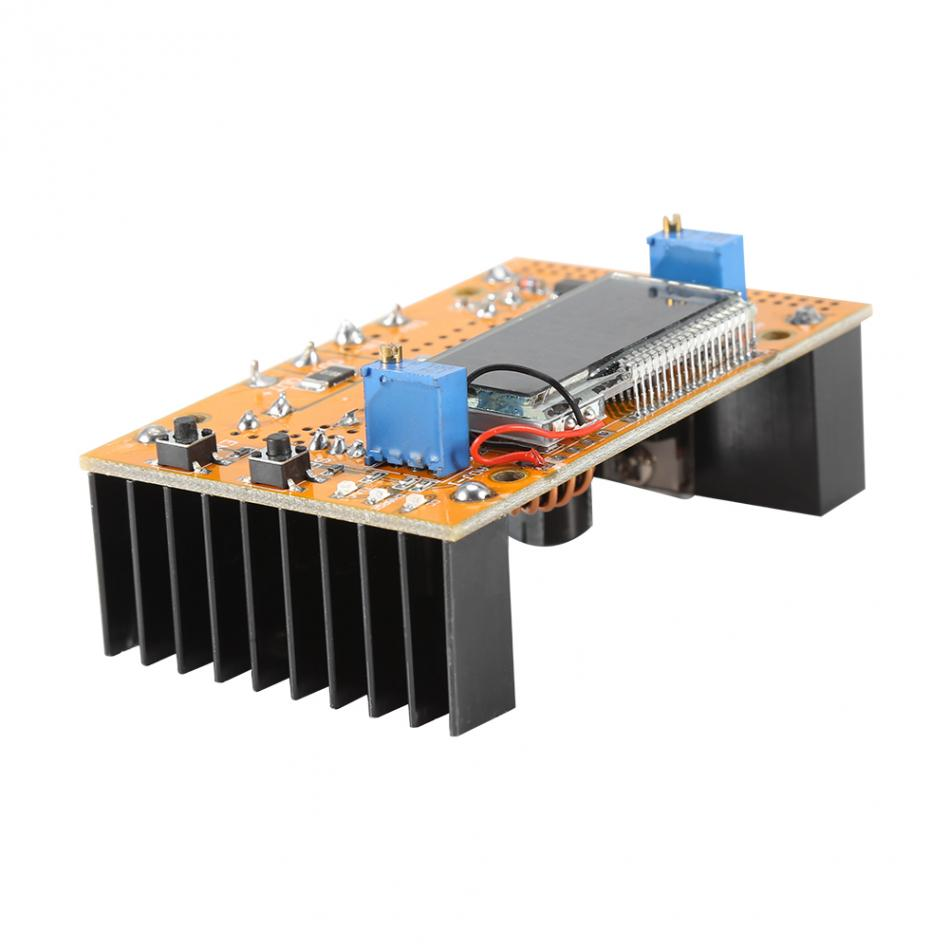 10A DC-DC Adjustable CC CV Step-down Power Supply Module Buck Converter 7V-36V to 1.5-35V  Power Step-down Module